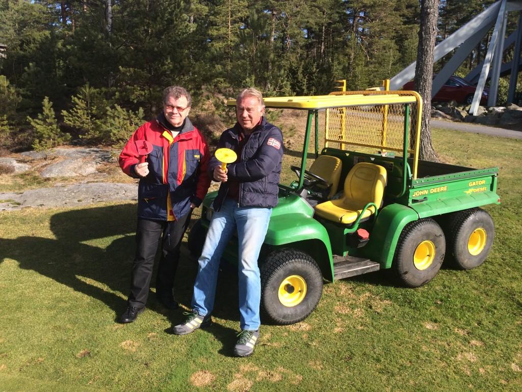 Jan Myhre og Roger Henning Johansen merket om hele banen på en dag.
