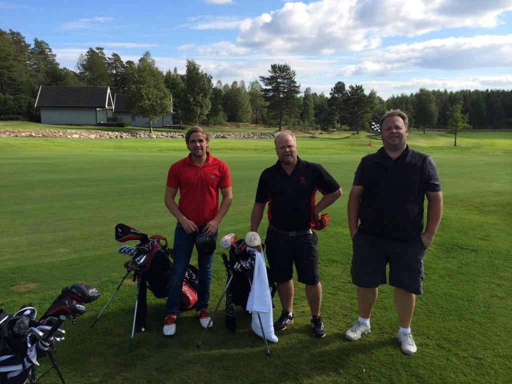 Oskar Valle, Thomas Grøtvedt og Lasse Ringom
