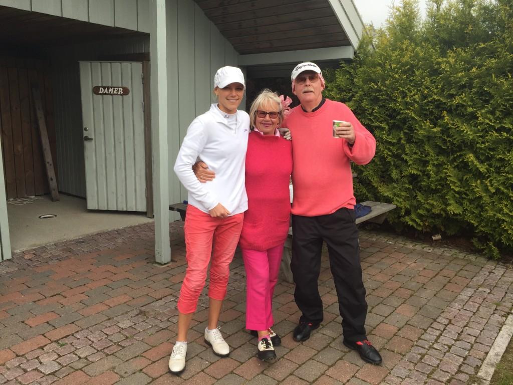 Amalie, Gro-Lise og Bjørn A. Andressen
