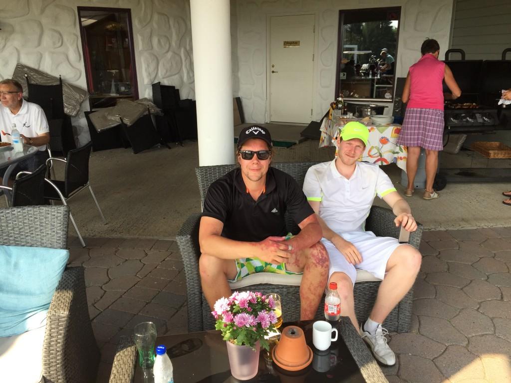 Vinnere på 44 poeng Anders Ottersten og Morten Bye