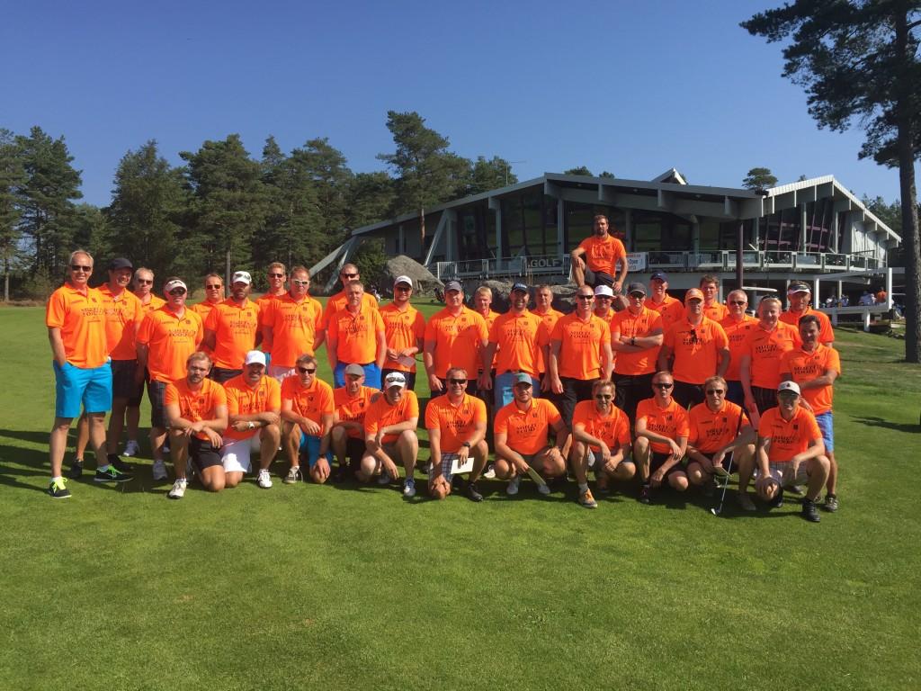 Deltagere i Amatørene Open 2015.