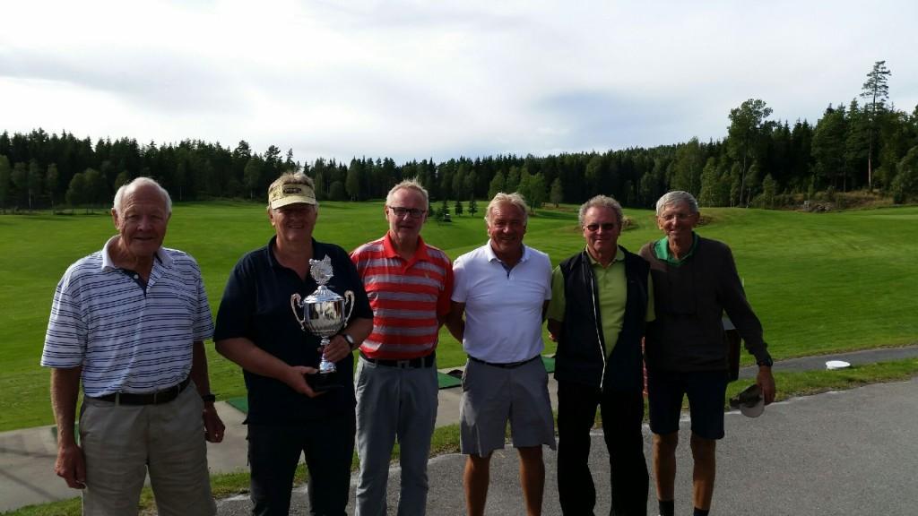Gunnar Melbye, Torbjørn Kristiansen,Terje Selnes, Jan Myhre, Trond Paulsen og Ulf Bertil Jansson