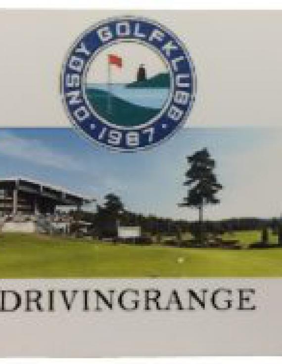 Ballkort til Drivingrange