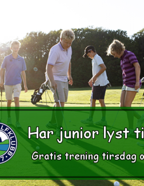 Gratis trening for alle knøtter og juniorer