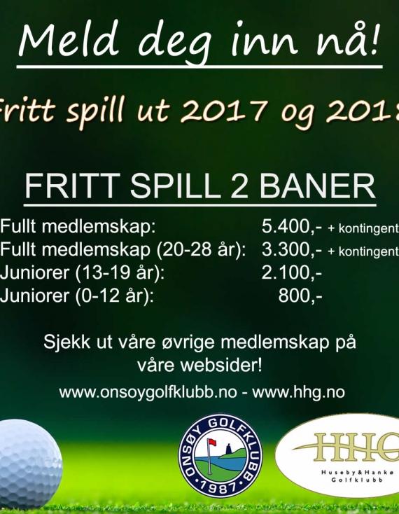 Kampanje: Medlemskap 2017/2018